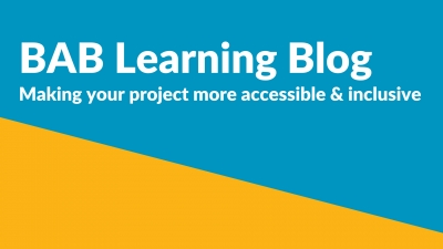 Learning Blog: Making your project more accessible and inclusive