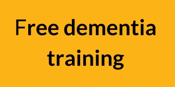 Training on reaching and engaging older people with dementia