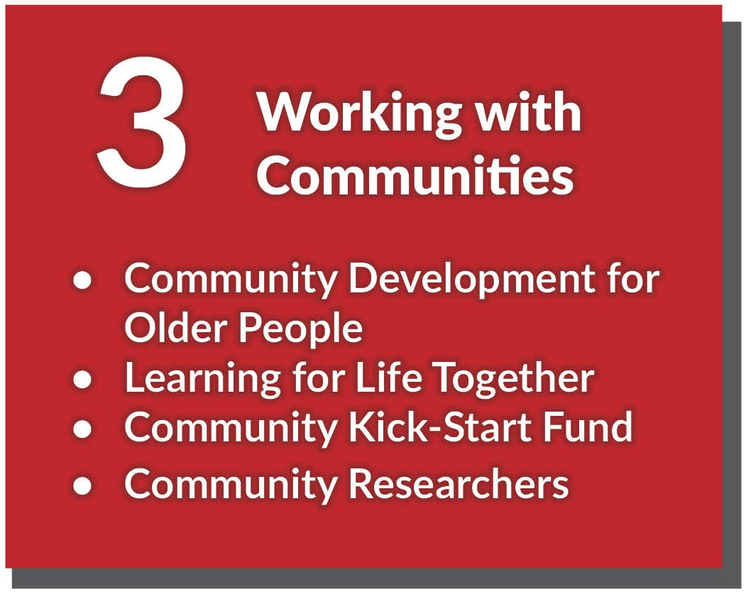 Click here to find out more about Working with Communities