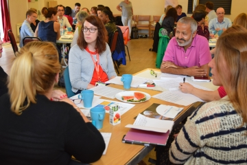 A lively ageing and wellbeing event