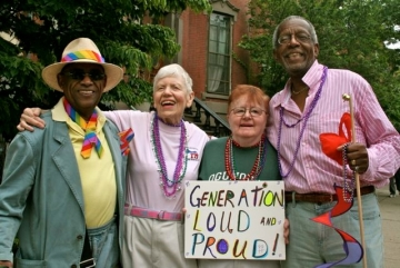 Meet our LGBT+ community development worker for older...